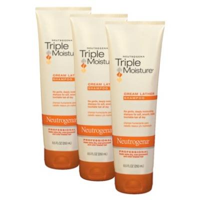 Friday's Favorite: Neutrogena Triple Moisture Shampoo & Conditioner